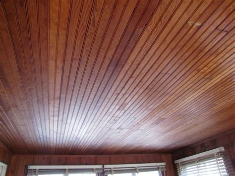 Pine Beadboard Ceiling by How To Paint The Beadboard Ceiling The Clayton Design