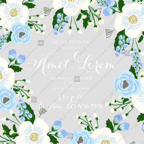 Wedding Background Light Blue by Wedding Invitation On Light Background With Blue