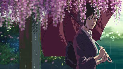 Garden Of Words Anime the garden of words amv kotonoha no niwa and beautiful