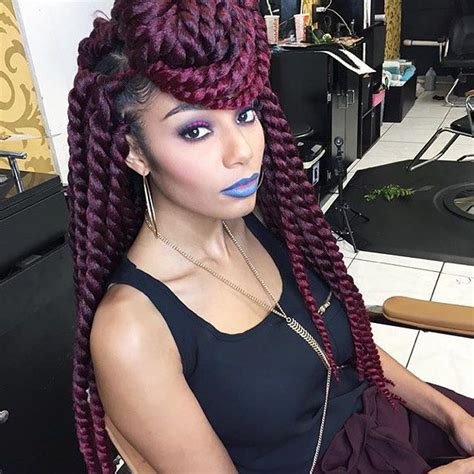 crochet braid salons in nyc 1000 ideas about burgundy box braids on pinterest box