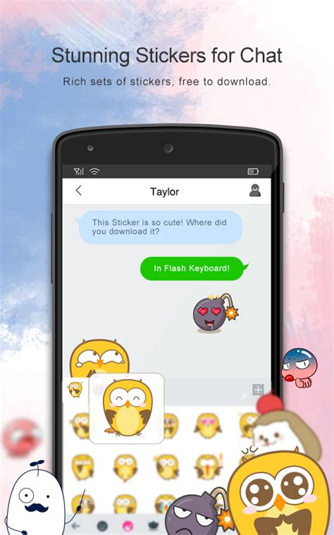 flash android flash keyboard emojis more mod android apk mods
