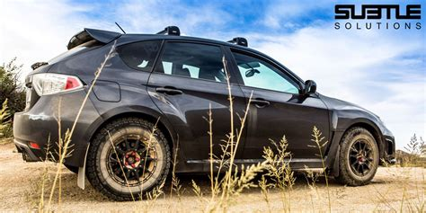 raised subaru impreza subtle solutions subaru lift kits accessories
