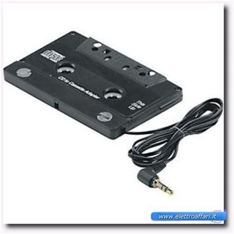 cassetta adattatore come collegare l ipod allo stereo della macchina