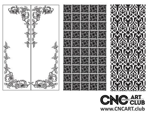 dxf patter  decorative divider pattern