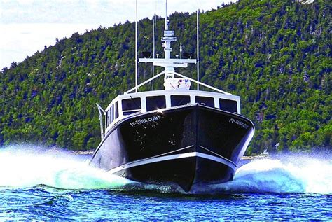 captain robbins fishing boat sw boatworks tuna maine boats homes harbors