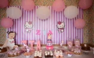 Birthday Decorations At Home Photos Hello Kitty 1st Birthday Decorations Henol Decoration Ideas