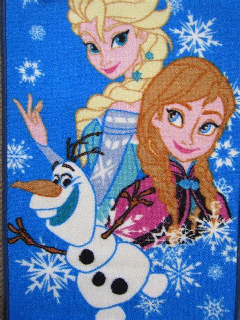 frozen rug disney frozen rugs elsa olaf ebay
