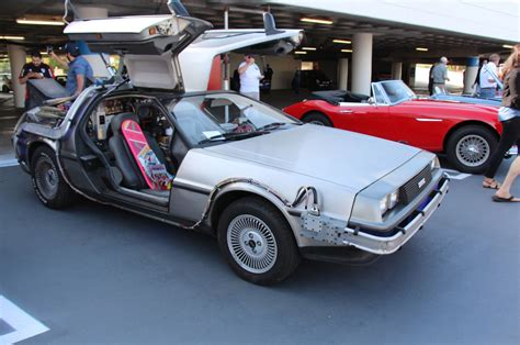 check out the delorean dmc 12s at the petersen automotive