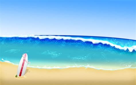 wallpaper cartoon beach surf beach wallpapers wallpaper cave