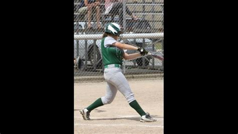 kennedy kennedy kennedy swing batter mendon softball team faces k christian in today s