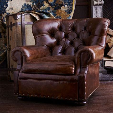 tufted leather chair craigslist writer s chair chairs ottomans ralph time