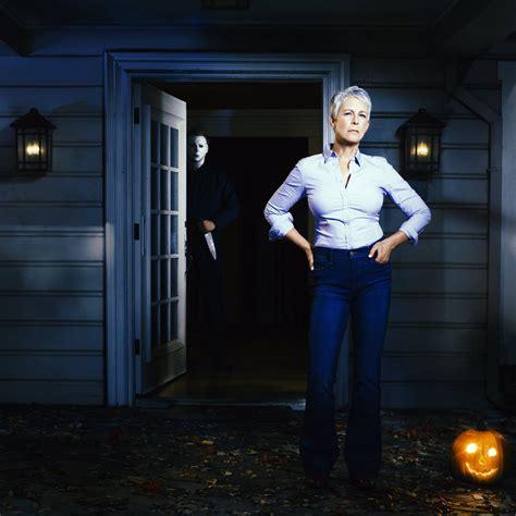 jamie lee curtis new halloween film jamie lee curtis returns to haddonfield in blumhouse s