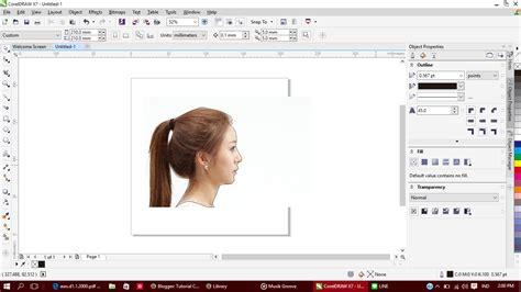 tutorial membuat gambar orang tutorial coreldraw membuat siluette gambar orang dari foto