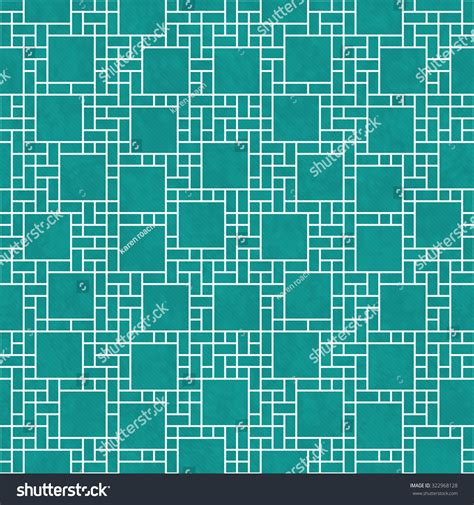 geometric pattern repeats teal white square abstract geometric design stock