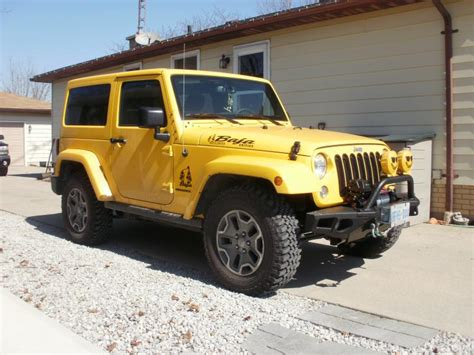 jeep baja edition introducing the yellow baja edition jeeps canada