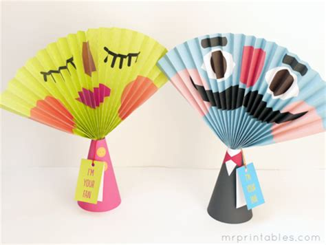 Paper Craft Fan - free printable craft paper fans shesaved 174