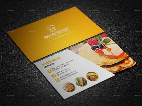 restaurant business card template psd restaurant business card by mehedi hassan graphicriver