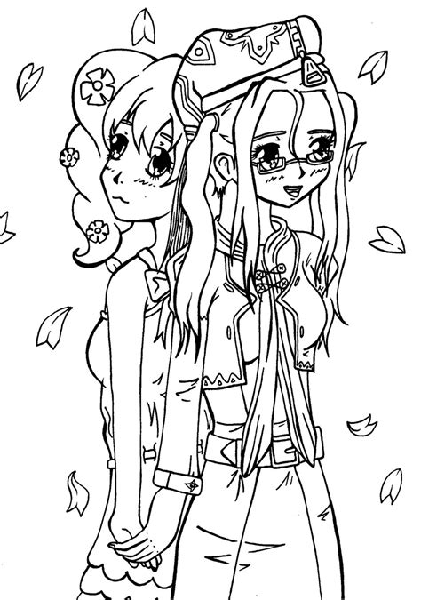 free holding page template anime holding coloring pages