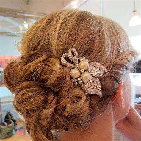 Vintage Inspired Wedding Hairstyles by Vintage Inspired Wedding Hairstyles Modwedding