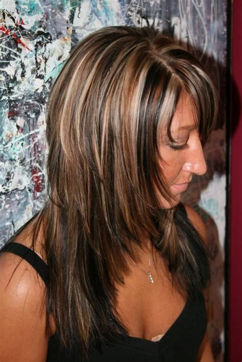 medium length hair style low lights best medium length hairstyles with highlights