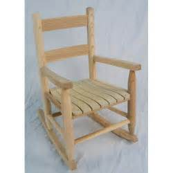 Dixie seating company unfinished child rocker
