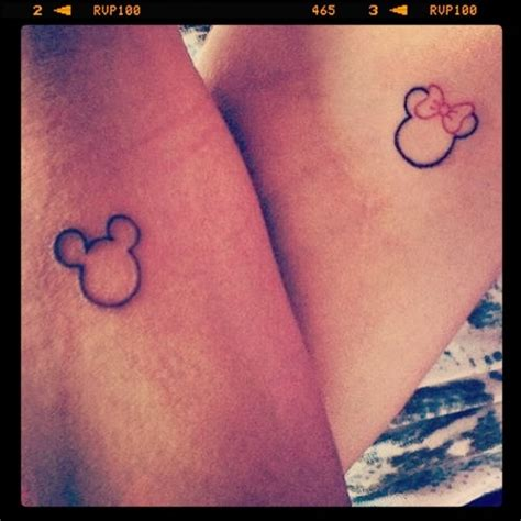beautiful minnie mouse tattoos