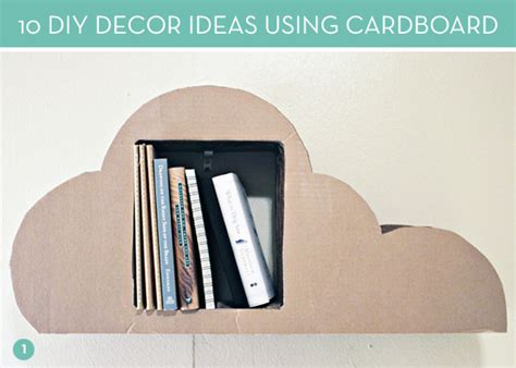 diy decorations using cardboard diy ideas 10 clever ways to use cardboard in your decor
