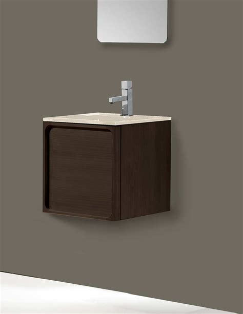 5 pretty dark wood bathroom vanities under 18 inches abode