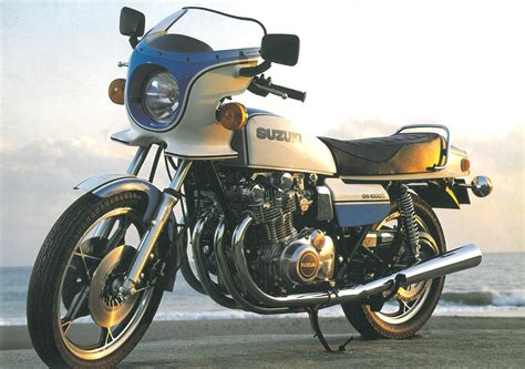 suzuki gs1000 added to vintage parts programme mcn