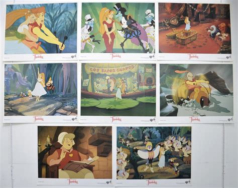 the lobby books thumbelina set of 8 cinema lobby cards original cinema