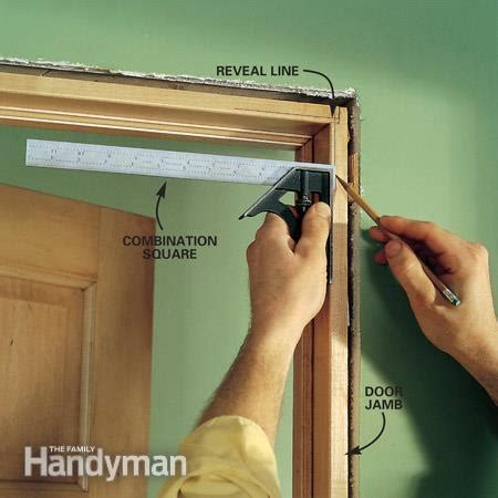 door trim no reveal interior trim work basics the family handyman