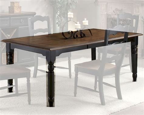 Rubberwood Dining Table Intercon Solid Rubberwood Dining Table Princeton Inpn4278tab