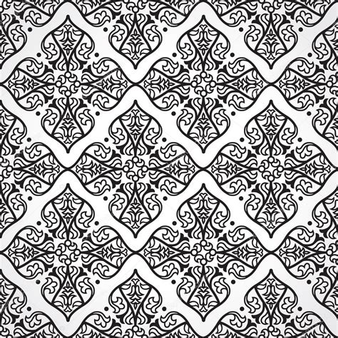 pattern victorian vector seamless pattern in victorian style stock vector