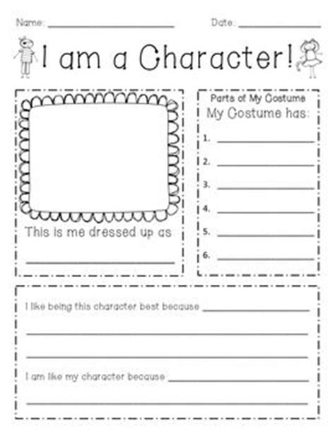 Character Parade Letter To Parents The World S Catalog Of Ideas