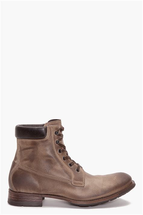 bronx mens boots ndc forester r bronx boots in brown for lyst