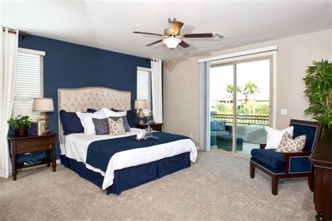 tipping the scale in the darker side for the nautical color scheme we the master bedroom