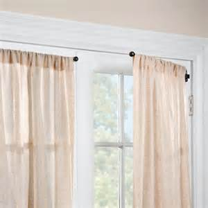Swing Arm Rods For Curtains 1 2 Quot Swing Arm Curtain Rod Pair Improvements Catalog