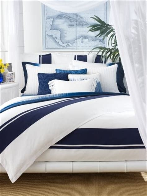 Navy Blue And White Striped Bedding by Navy Blue And White Striped Bedding The Versatile Bedroom