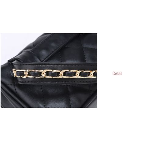 Tas Pinggang Waist Bag Rdt11 Black tas pinggang wanita luxury waist bag 1534 black