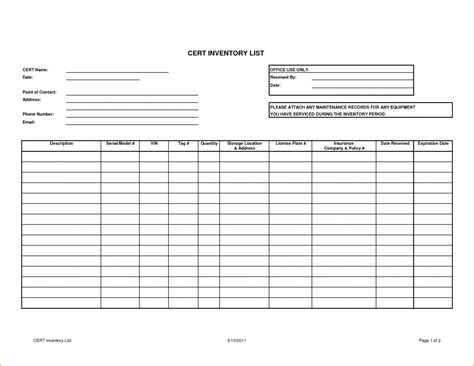 sample stock inventory control template 9 free documents download