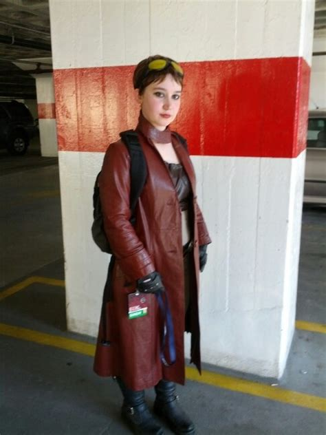patricia tannis  borderlands red leather jacket