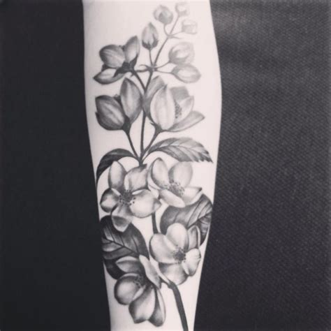 jasmine flower tattoo design best 25 flower tattoos ideas on