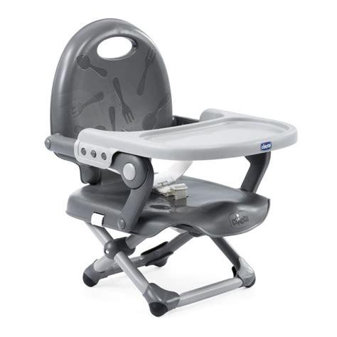 chicco r 233 hausseur de chaise pocket snack grey 2018