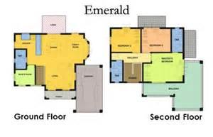 Emerald Homes Floor Plans by Floor Plans Camella Homes Legazpi