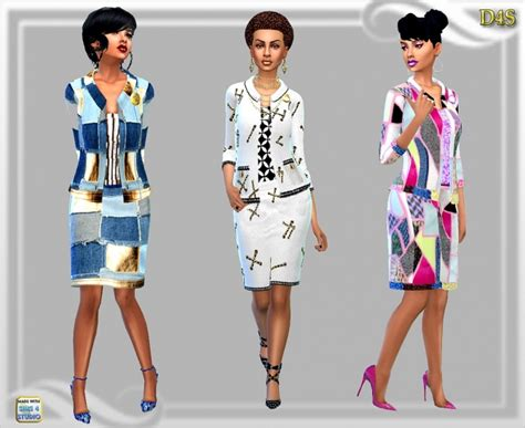 design clothes sims 4 designer look suit at dreaming 4 sims 187 sims 4 updates
