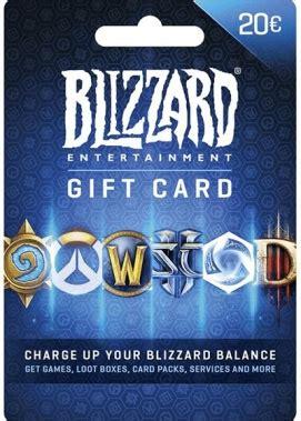 Battlenet Gift Card Sea 20 battlenet gift card 20 kopen bij gamecards direct be