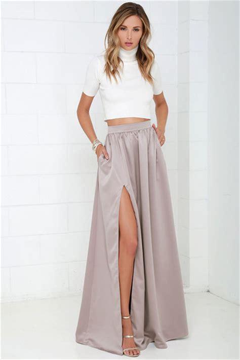 skirt skirt pretty maxi skirt with slits