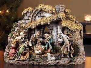 indoor nativity set