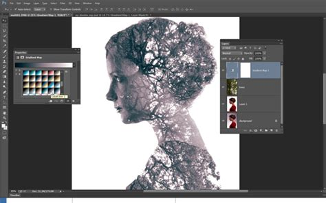 digital double exposure tutorial double exposure portraits a simple tutorial for making