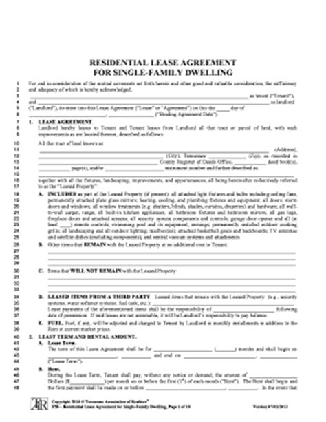 printable lease agreement tennessee bill of sale form connecticut realtor association